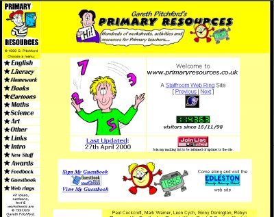 Primary Resources - Free lesson plans, teaching ideas ...